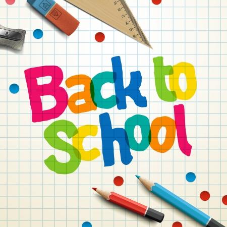 convivencia escolar: Bienvenido de nuevo a la escuela Foto de archivo