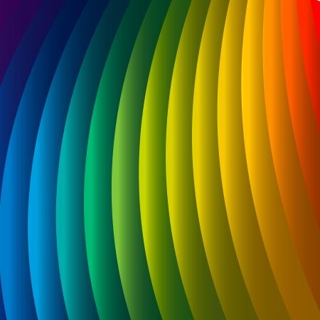 decibels: Abstract rainbow background, vector Eps10 illustration. Illustration