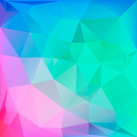 Polygon Hintergrund für Web-Design