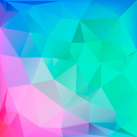 Polygonal background for web design  Illustration