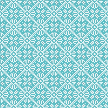 Seamless snowflakes pattern, winter theme Vector