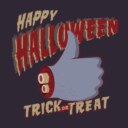 intertainment: Halloween Party design template