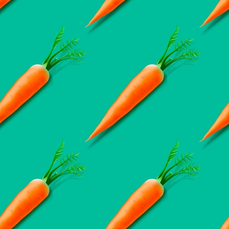 Carrot seamless pattern Stock Vector - 23828544