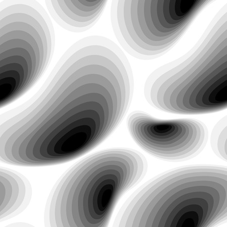 black and white image: Seamless abstract black white pattern, vector Eps10 image.