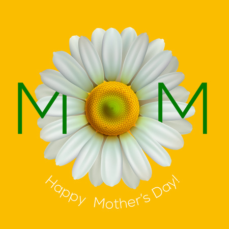 greeting cards: Greeting card for Mother Day, vector illustration.