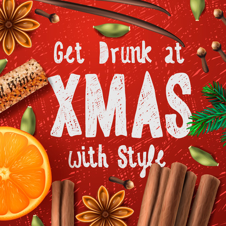 fragrance: Christmas drink mulled wine get drunk at Christmas with style