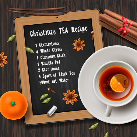 Christmas tea with spices recipe mulled wine tea cup of tea