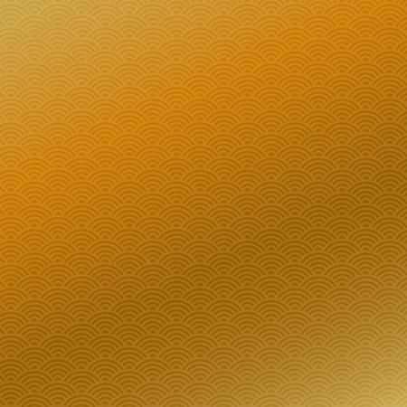 中国の旧正月、黄金のシームレスなパターン背景を抽象化、ベクトル イラスト。  イラスト・ベクター素材