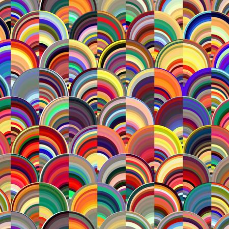 Zusammenfassung Marmor nahtlose Muster, mehrfarbig