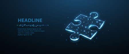 Puzzle. Business stategy, success solution, jigsaw games symbol. Idea metaphor. Creative idea, connection, challenge, join us concept