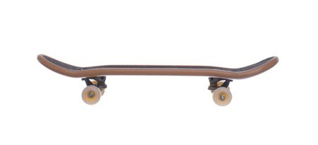 fingerboard: Fingerboard isolated on white background