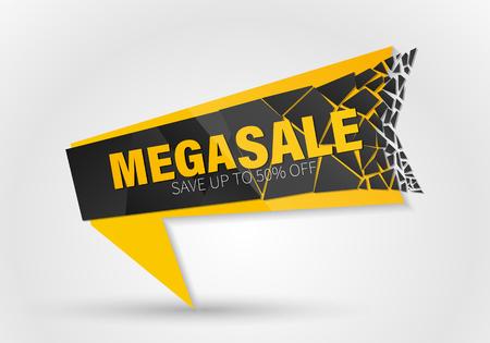 Sale banner template design, Big sale special offer. end of season special offer banner.