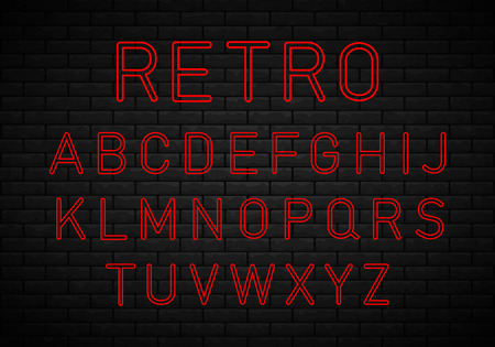 Retro font. Best for use as a headlines in advertising, stylish retro art, graphic designs, posters and web design.