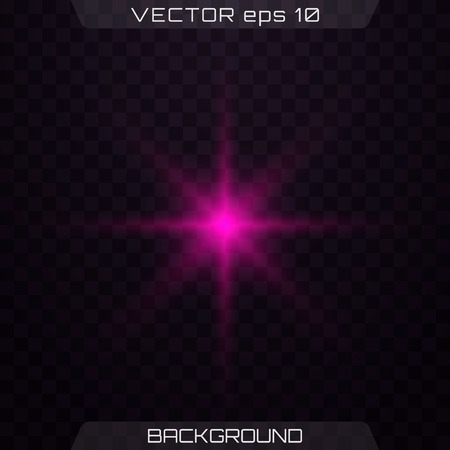 Set of light pink sparkles on a transparent background vector. Glowing purple, pink light effects isolated on transparent background. Lens flare, explosion, glitter, line, sun flash, spark and stars.
