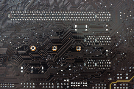 Fragment chips of the motherboard or mainboard as background
