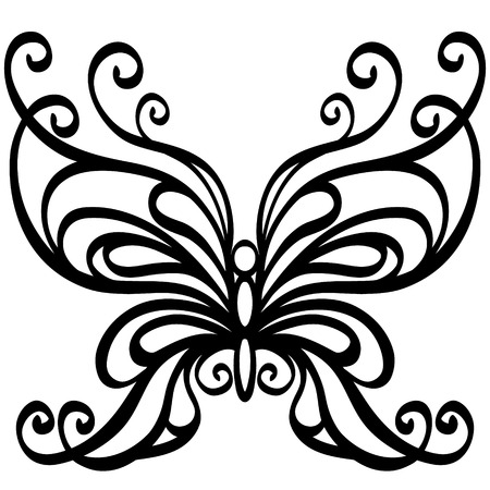 Vector butterfly Ilustrace