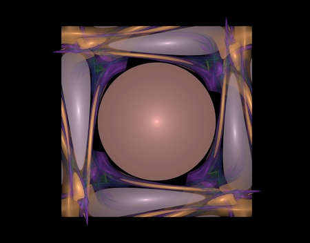 craig: The picture shows a square fractal with the ball in the middle
