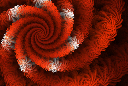 abstract fractal background a computer-generated 2D illustration,spiral Stock Photo