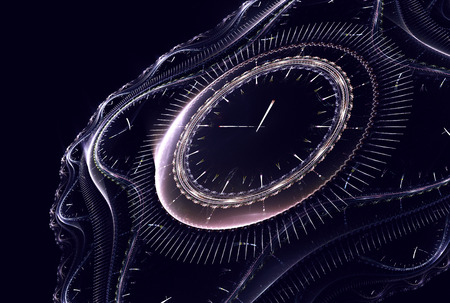 time remaining: Cosmic clock shows the time remaining before the start of a new period of life