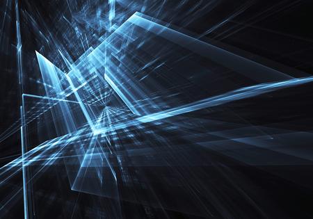 프랙탈 아트 - 컴퓨터 이미지, 기술 배경 스톡 콘텐츠