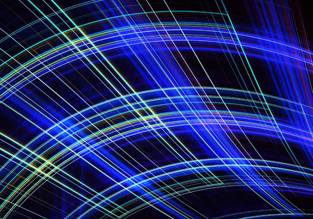 Abstract color dynamic background with lighting effect. Fractal spiral. Fractal art Stock Photo