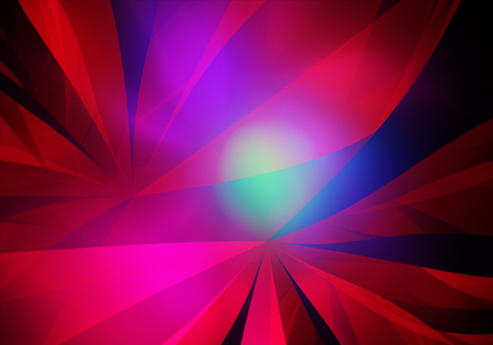 Abstract color dynamic background with lighting effect. Futuristic bright painting texture for creativity graphic design. Pattern for wallpaper, poster, cover booklet, flyer, banner. Fractal art Reklamní fotografie