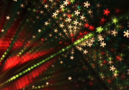 Abstract color dynamic background with lighting effect. Futuristic bright painting texture for creativity graphic design. Pattern for wallpaper, poster, cover booklet, flyer, banner. Fractal art 写真素材