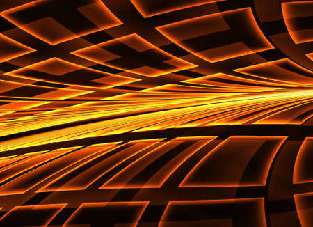Technological textured background. Fractal graphics. Science and technology concept.