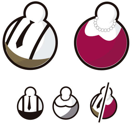 wc: Fat wc Symbole