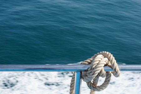 bind: rope for bind a boat