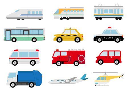 Variety Vehicles, airplanes.