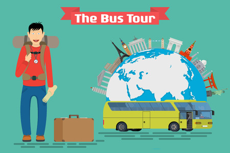 tour guide: Tourists people group flat style. Travel and tourist group, tour and tourist isolated, tourist guide, vacation and tourist people, tourism summer leisure illustration