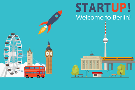 Sturtup, welcome to Berlin! Moving startups from England to Germany - Concept