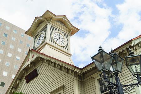 sapporo: Sapporo Clock Tower,april