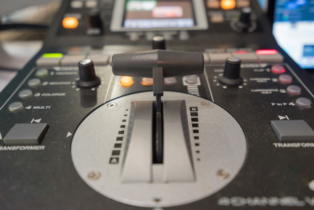 the mixing: video mixing console
