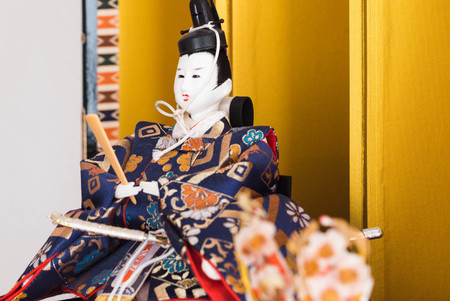 Hina ningyo is a special doll wearing a traditional Japanese costume for Doll's festival. And It is said that Hina Ningyo take away the bad luck of girls who own them.