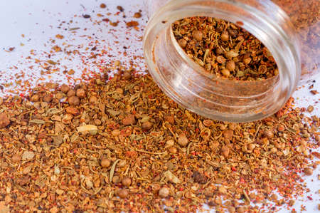 spices in jar