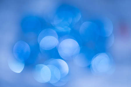 Defocused blue boker background
