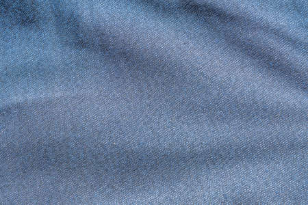 knitted blue fabric background
