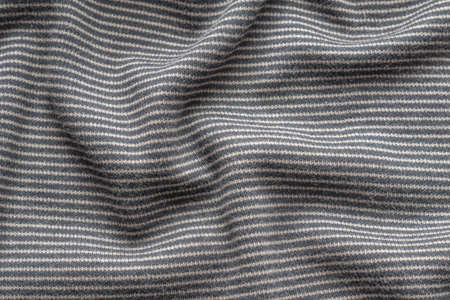 knitted stripped fabric background