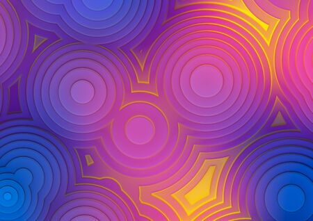 Background of concentric circles Stock Photo