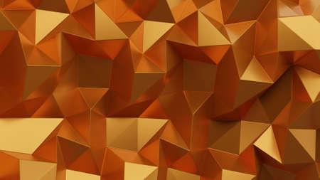 Bright shiny golden triangles
