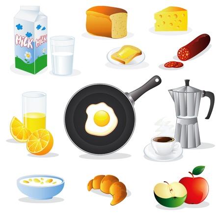 produits céréaliers: Set Breafast
