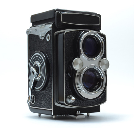 Vintage photo camera Banco de Imagens