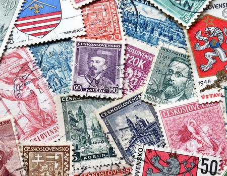 czechoslovakia: CZECHOSLOVAKIA - CIRCA 1900-1980 : Postage stamp printed by Czechoslovakia, that shows different people and motives from Czechoslovakia.