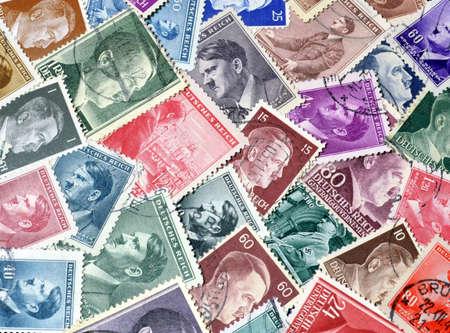 adolf: Adolf Hitler on postage stamps Editorial