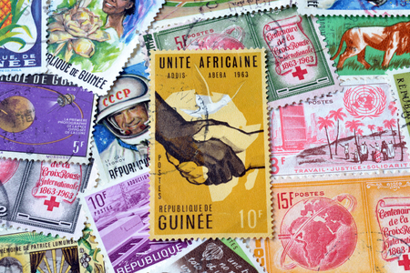 philately: Guinea on stamps