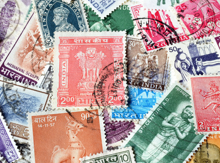 post stamp: India on stamps Editorial