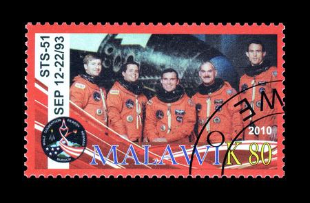 切手 2010年年頃、宇宙飛行士を...