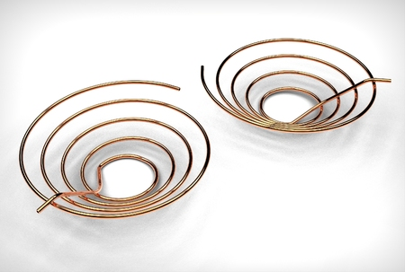 3d illustration of the pipe coil Stock Illustration - 79404337